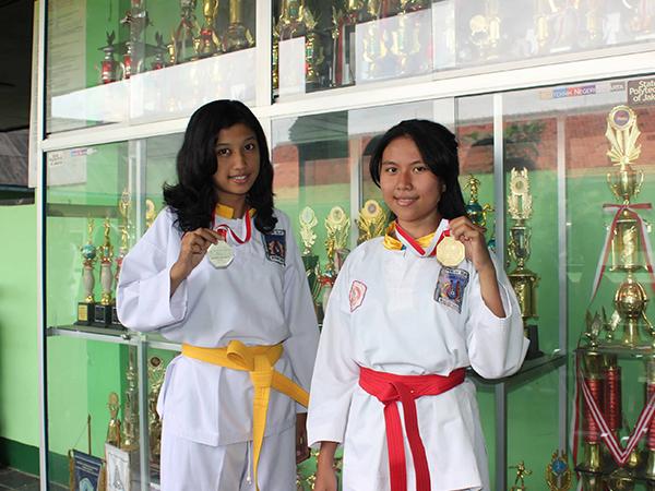Juara Taekwondo tingkat Jakarta Timur