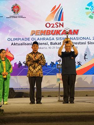 Muhadjir Effendy resmi membuka O2SN Tahun 2018