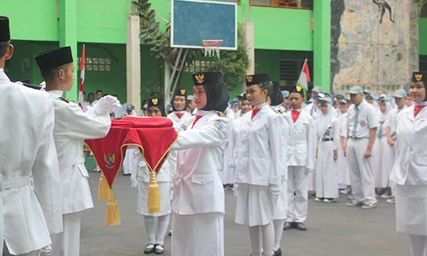 Upacara Ulang Tahun Ke-74 Republik Indonesia